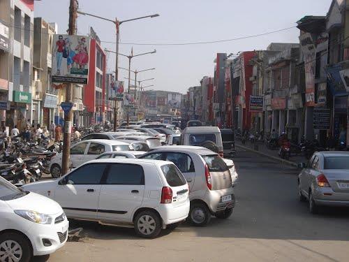 Main Market in Gandhidham