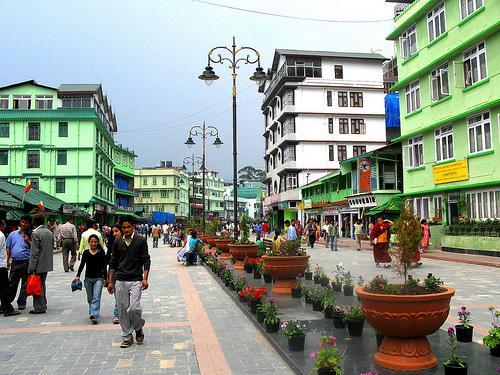 Shopping in Gangtopk