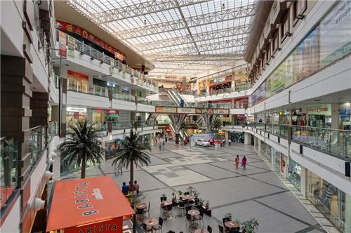 Grand Atrium of Mahagun Metro Mall in Ghaziabad