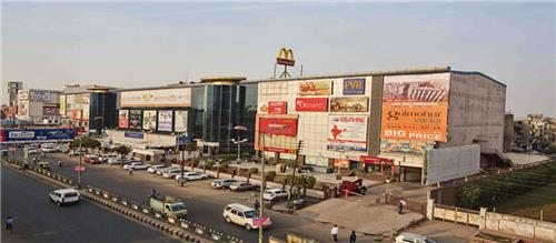 Birds Eye View of Opulent Mall in Ghaziabad