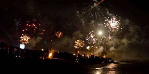 New years celebration in Goa