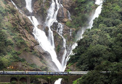 Waterfalls and Lakes in Goa