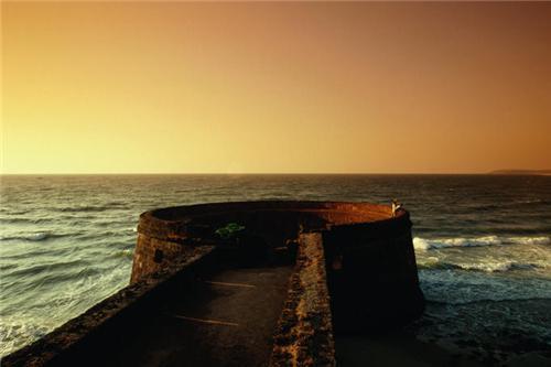 Fort Aguada at Candolim Beach