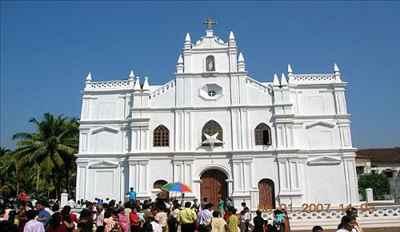 Canasaulim Church in Goa