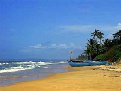 Benaulim Beach in Goa