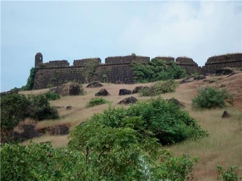 Aguada Fort beside the Sinquerim Beach at Goa-Credit Google