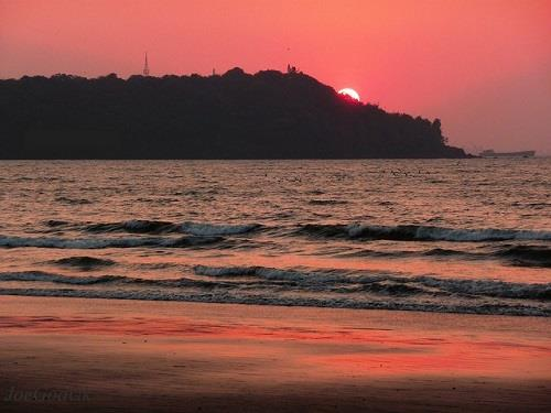 Caranzalem Beach in Goa