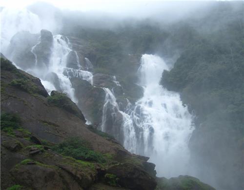 Dudhsagar Falls in Mollem National Park-Credit Panoramia
