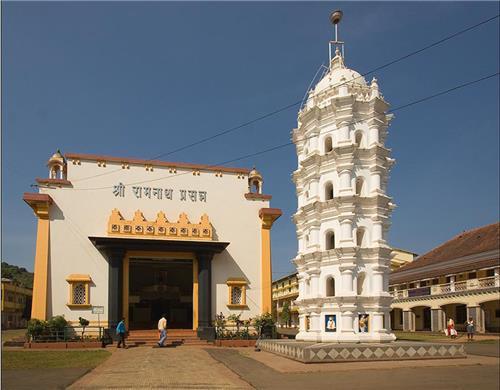 Shri Ramnath Mandir at Panaji Goa-Credit Google