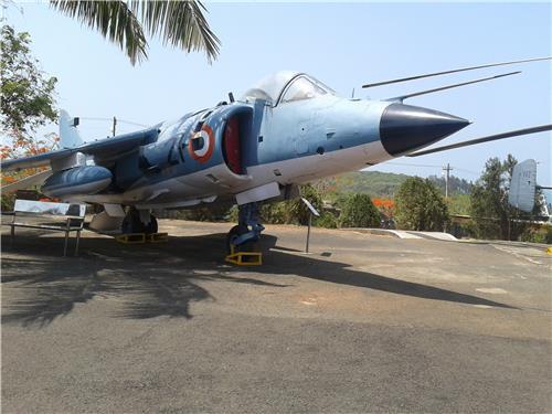 Sea Harrier FRS 51 Aircraft at Goa-Credit Wikimedia