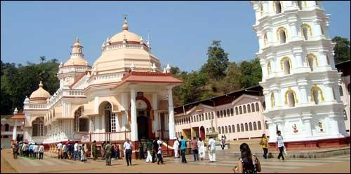 Temples in and around Panaji