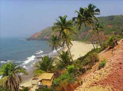 Canaguinim Beach in Goa