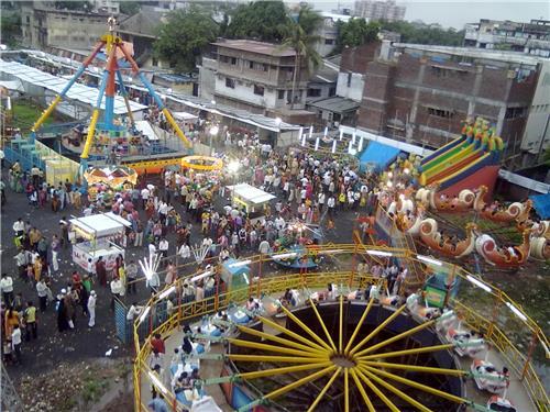 Fair Ground near Bhavnath temple