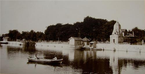 Boating at Sursagar Lake