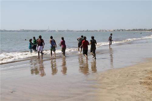 Ahmedpur Mandvi Beach in Gujarat