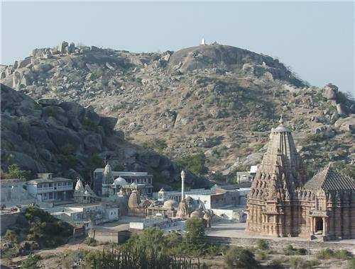 Ancient Jain Temples near Mehsana on Taranga Hills