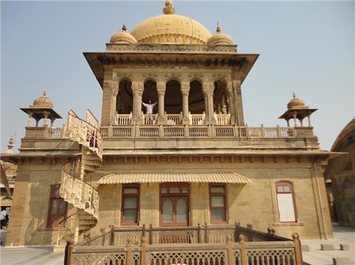 Vijay Vilas Palace in Mandvi