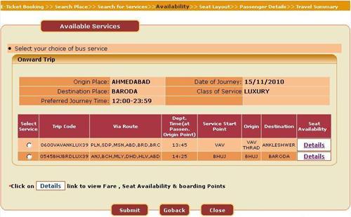 GSRTC or Gujarat State Road Transport Corporation