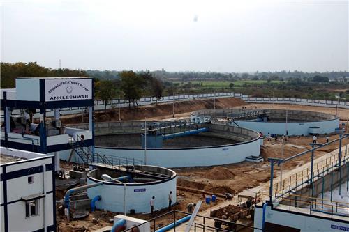 Sewage Treatment Plant in Anklesvar