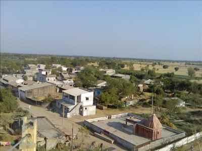 Panoramic View of Bardoli City