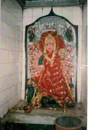 Bisbhuji Mata Temple in Guna