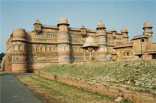 Travelling in Gwalior