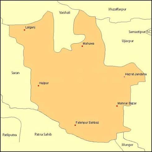 Geography of Hajipur