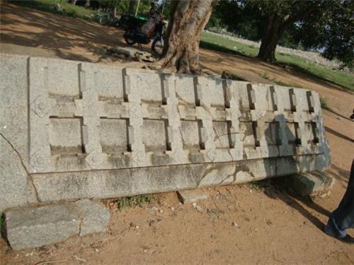 Stone Door Part of Dasara Dibba