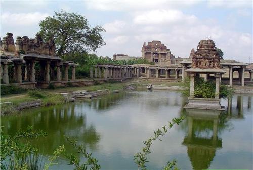Krishna Temple, Hampi