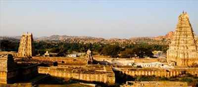 Localities in Hampi