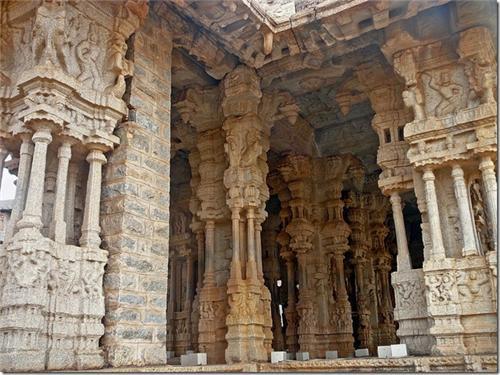Pillars of Vittala Temple