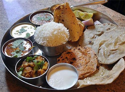 Ingredients in Haryanvi Thali