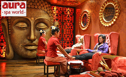 Relaxed Ambiance of Thai Aura Spa