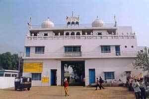 Gurudwara Panjokhra Sahib situated on Ambala-Naraingarh Road