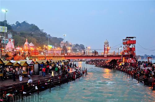 Har Ki Pauri Haridwar Location