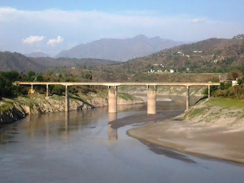 Kandraur Bridge in Bilaspur