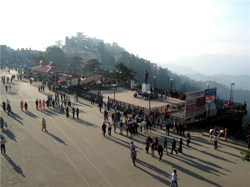 Scandal Point Shimla