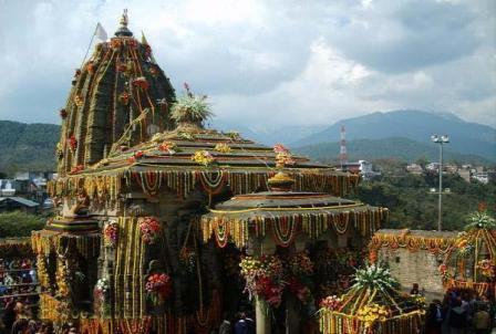 Temple in Arki City