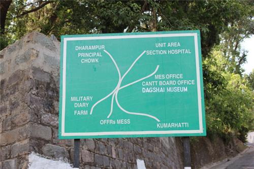 Area under Dagshai Cantonment