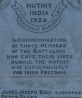 Irish Mutiny in 1920 at Dagshai