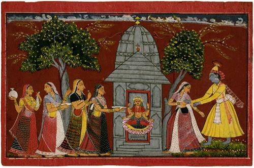 Example of Basholi Painting