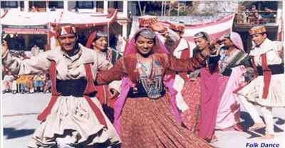 Folk Dancers at Kangra