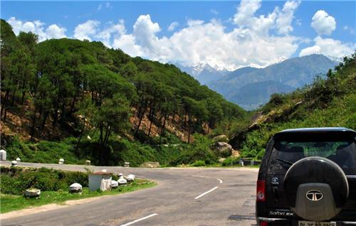 Road from Kangra