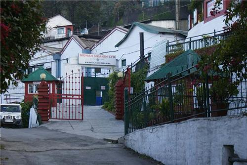 The ancient brewery in Kasauli