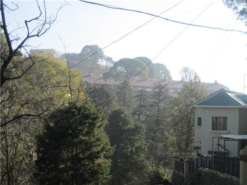 Residence of Cantonment board in Kasauli