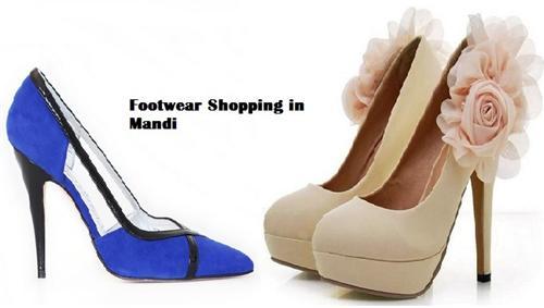Mandi Footwear Shopping