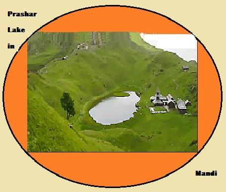 Prashar Lake from Mandi