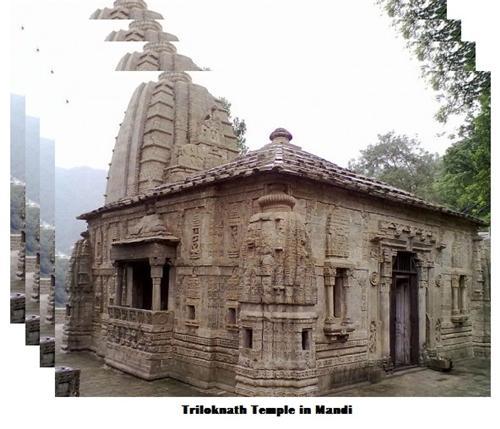 Mandi Triloknath Temple