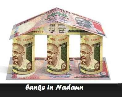 Banks in Nadaun