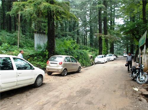 Roads at Dharamsala